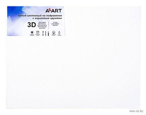 """Холст на подрамнике """"AZART"""" (40х50 см; акриловый грунт) — фото, картинка"""