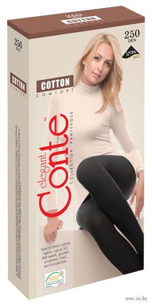 "Колготки женские теплые ""Conte. Cotton 250"""