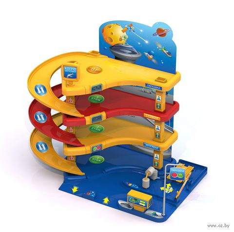 """Игровой набор """"Парковка. Звездная галактика"""" — фото, картинка"""