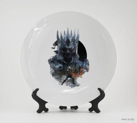 """Тарелка """"Ведьмак"""" (692)"""