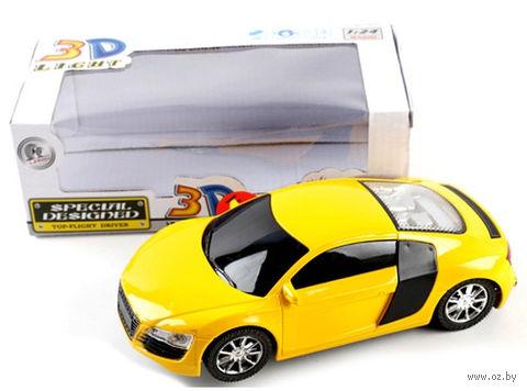 Автомобиль инерционный (со звуковыми и световыми эффектами; арт. 3700-9D) — фото, картинка