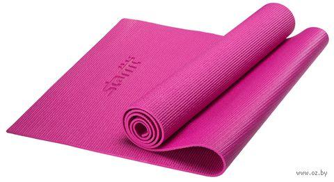Коврик для йоги FM-101 (173x61x0,5 см; розовый) — фото, картинка