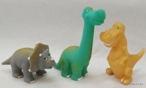 """Набор игрушек для купания """"Динозавры"""" (3 шт.; арт. 19С62-1220) — фото, картинка"""