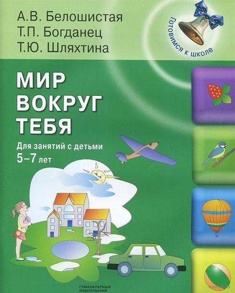 Мир вокруг тебя. Для занятий с детьми 5-7 лет. Т. Шляхтина, Т. Богданец, Анна Белошистая
