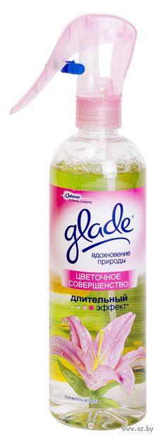 """Освежитель воздуха жидкий Glade """"Цветочное совершенство"""" (415 мл)"""