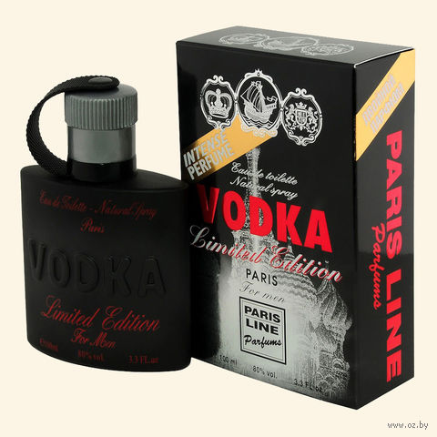 "Туалетная вода для мужчин ""Vodka Limited Edition"" (100 мл) — фото, картинка"