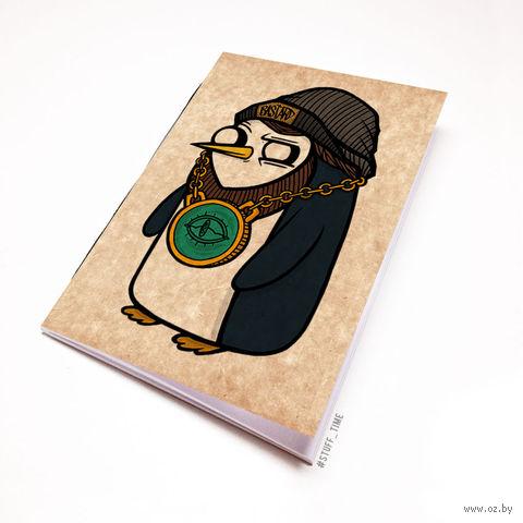 """Блокнот крафт """"Время Приключений. Гюнтер"""" А5 (284)"""