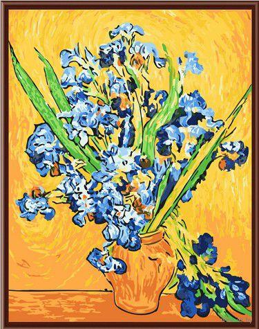 "Картина по номерам ""Ирисы Ван Гога"" (400х500 мм)"