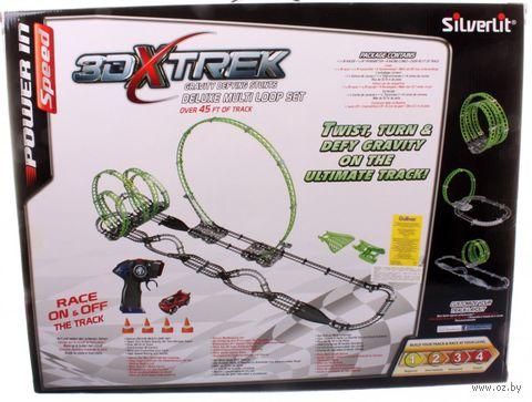 """Игровой набор на радиоуправлении """"3DX-трек Делюкс"""""""