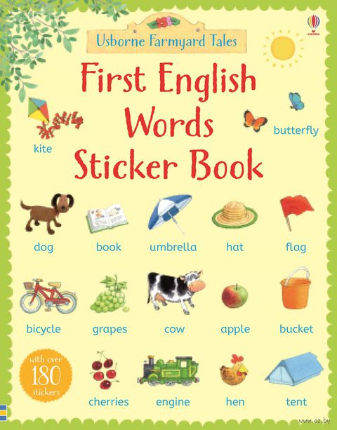 First English Words. Sticker Book — фото, картинка