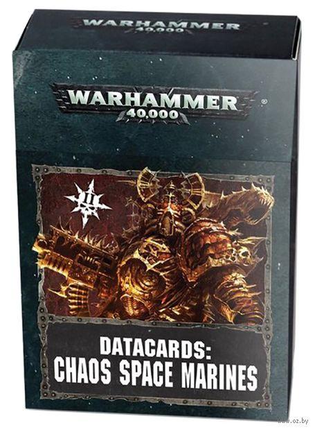 Warhammer 40.000. Datacards: Chaos Space Marines (43-02-60) — фото, картинка