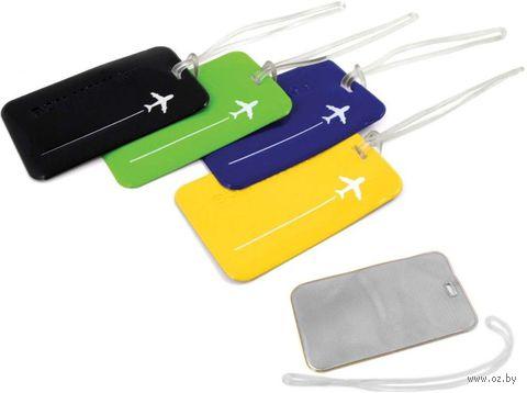 """Ярлык для багажа MNM """"Etiquette bagage"""" (зелёный) — фото, картинка"""