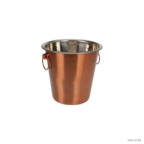 Ведро для охлаждения бутылки металлическое (215х200 мм; арт. A12400600)