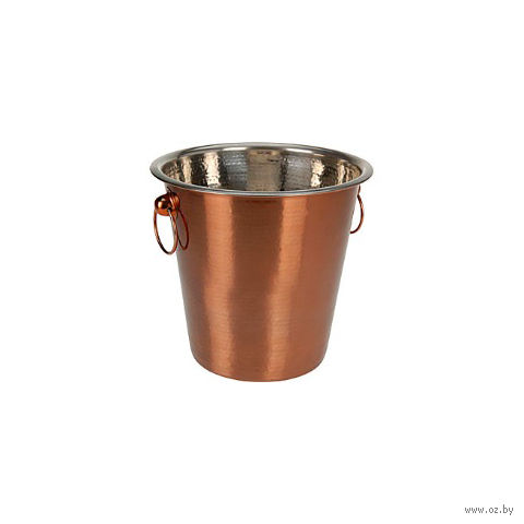Ведро для охлаждения бутылки металлическое (21,5х20 см; арт. A12400600)