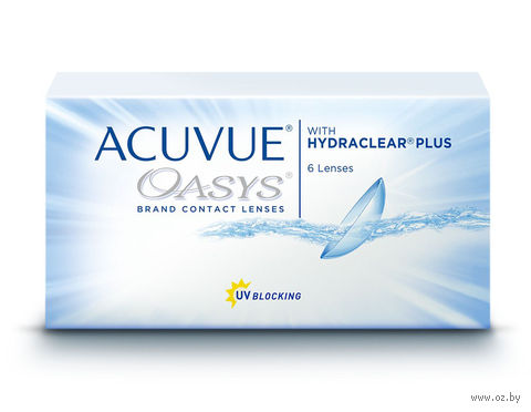 """Контактные линзы """"Acuvue Oasys"""" (1 линза; -7,0 дптр) — фото, картинка"""