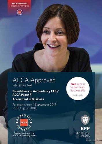 FIA Foundations of Accountant in Business FAB (ACCA F1). Interactive Text — фото, картинка