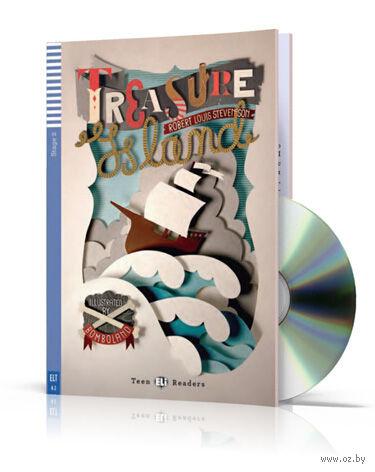 Teen Eli Readers. Treasure Island (+ CD) — фото, картинка
