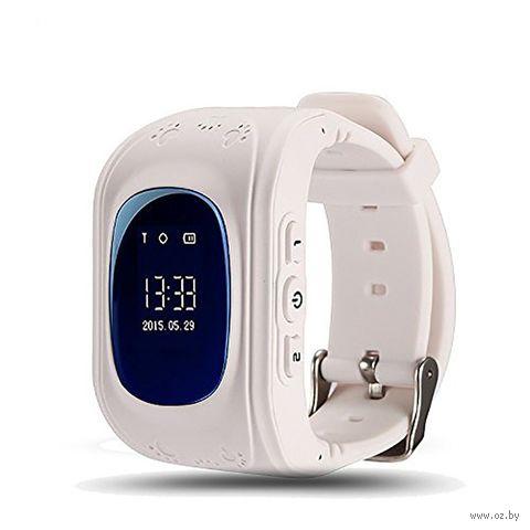 Детские часы SmartBabyWatch Q50 (белые) — фото, картинка