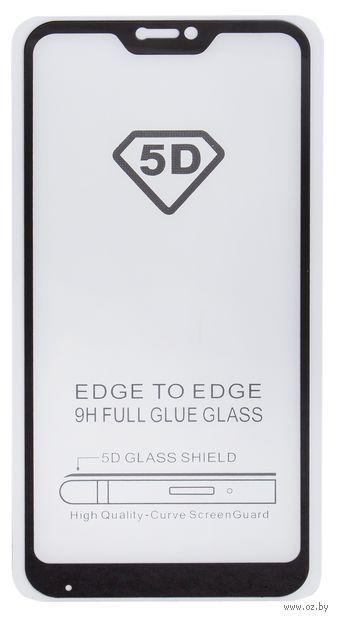Защитное стекло Experts для Xiaomi Mi A2 Lite, Redmi 6 Pro Full Glue (черное) — фото, картинка