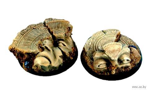 """Подставка круглая """"Египетские руины"""" (40 мм; 2 шт; арт. BREG0033) — фото, картинка"""
