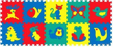 """Пазл-коврик """"Животные"""" (10 элементов) — фото, картинка"""