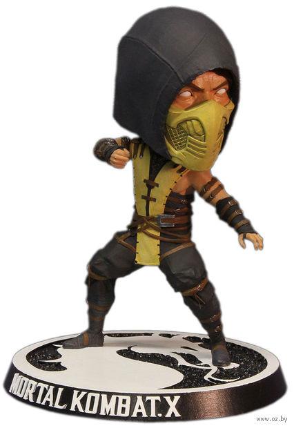 "Фигурка. ""Mezco. Mortal Kombat X Scorpion Bobblehead"" (15 см)"