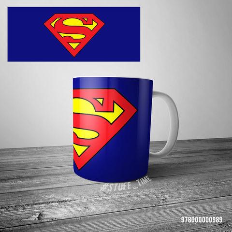 "Кружка ""Супермен"" (арт. 989)"