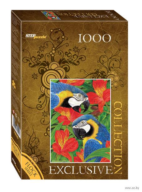 "Пазл ""Попугаи"" (1000 элементов) — фото, картинка"