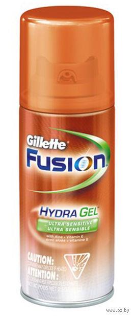 Гель для бритья Gillette FUSION Hydra Gel Sensitive Skin для чувствительной кожи (75 мл)