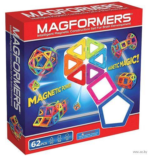 """Конструктор магнитный """"Magformers 62"""" (62 детали) — фото, картинка"""