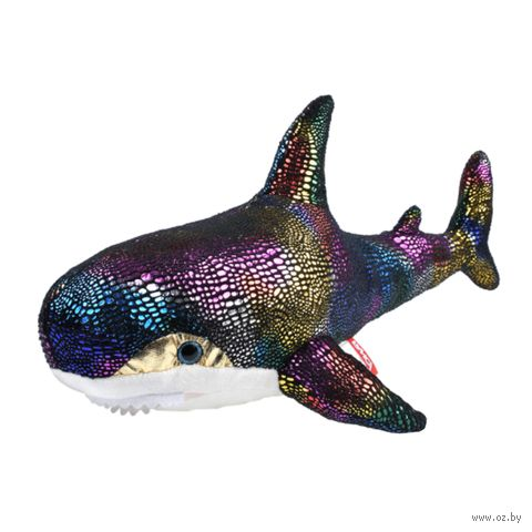 "Мягкая игрушка ""Акула. Блестящая"" (47 см; арт. AKL01BCH) — фото, картинка"