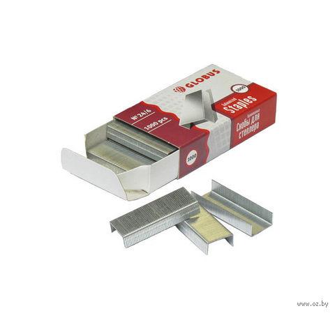 Скобы №24/6 для степлера (1000 шт) — фото, картинка