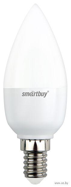 Лампа Светодиодная (LED) Smartbuy-C37-05W/4000/E14