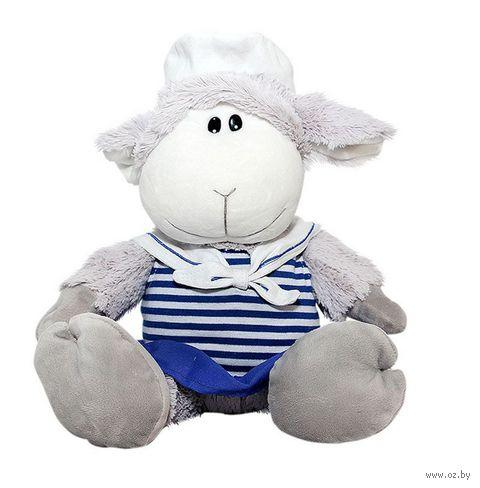 "Мягкая игрушка ""Овечка-морячка"" (17 см)"