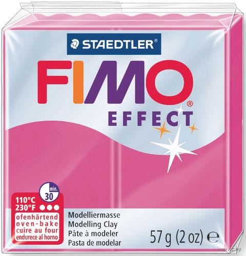 """Глина полимерная """"FIMO Effect"""" (красный кварц; 57 г) — фото, картинка"""