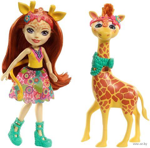 """Кукла """"Enchantimals. Джилиан Жираф и Пол"""" — фото, картинка"""