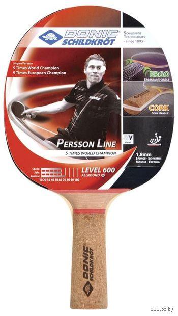 """Ракетка для настольного тенниса """"Schidkroet Persson 600"""" — фото, картинка"""