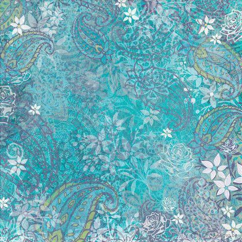 """Бумага для скрапбукинга """"Абрианна. Голубые мотивы"""" (310х310 мм; 12 листов)"""