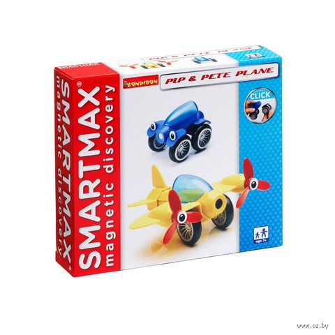 """Конструктор магнитный """"SmartMax. Пип и самолетик Пит"""" — фото, картинка"""