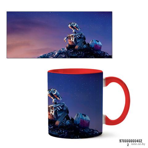 """Кружка """"Wall-e"""" (красная) — фото, картинка"""