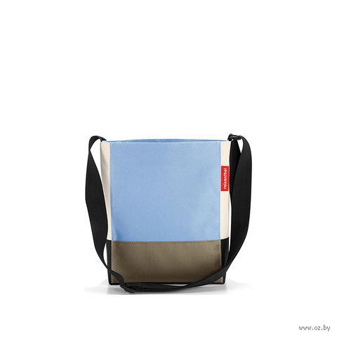 "Сумка ""Shoulderbag"" (S, patchwork pastel blue)"