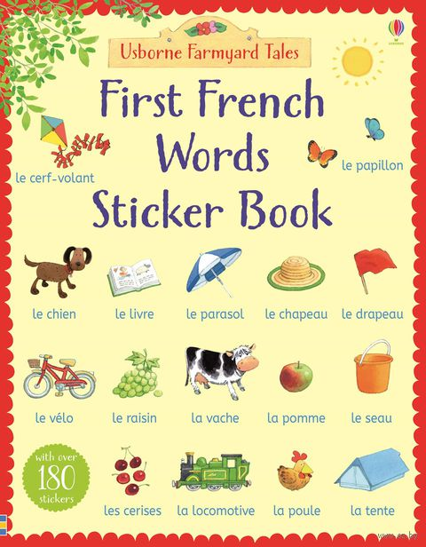 First French Words. Sticker Book — фото, картинка