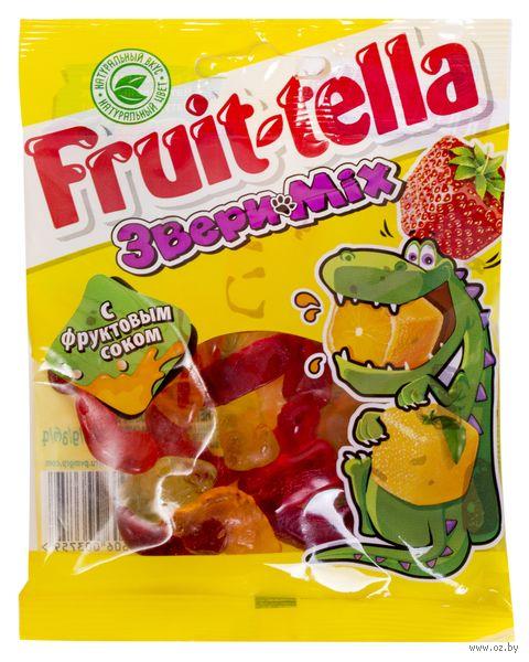 "Мармелад ""Fruittella. Звери Mix"" (70 г) — фото, картинка"