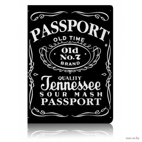 """Обложка для паспорта """"Miusli Jack"""" — фото, картинка"""