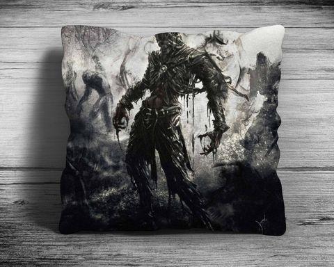 """Подушка """"Dark Souls"""" (арт. 8; 28х28 см) — фото, картинка"""