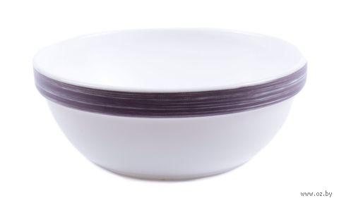 "Салатник стеклокерамический ""Brush Purple"" (120 мм; арт. L0779) — фото, картинка"