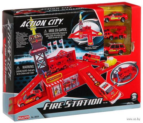 """Игровой набор """"Пожарная станция"""" (арт. Г42645)"""
