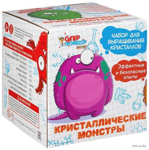 """Набор для опытов """"Кристаллические монстры"""""""