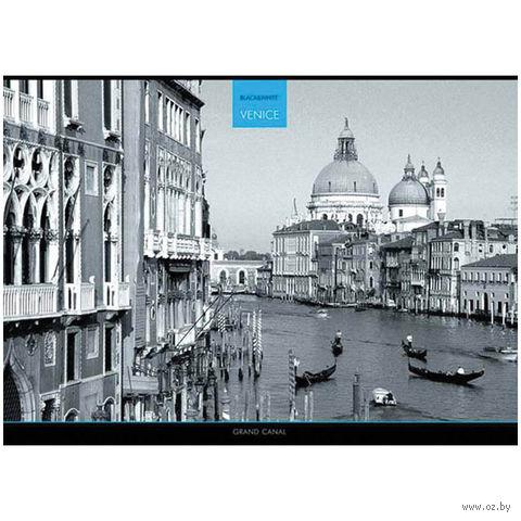 """Альбом для рисования А4 """"Города. Black & White"""" (40 листов)"""