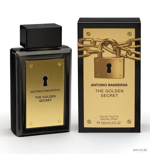 """Туалетная вода для мужчин Antonio Banderas """"The Golden Secret"""" (100 мл) — фото, картинка"""